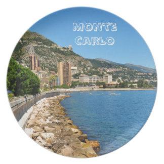 Assiette Monte Carlo au Monaco