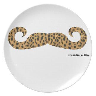 Assiette Moustache