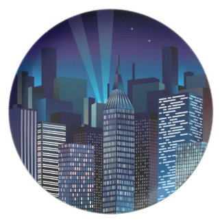 Assiette NightCityScape_VectorDTL