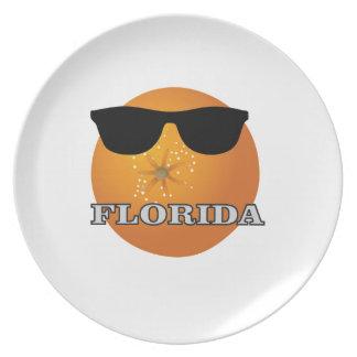 Assiette nuances de la Floride