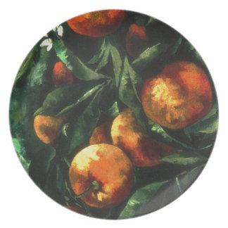 Assiette Oranges