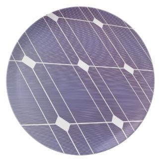 Assiette Panneau solaire