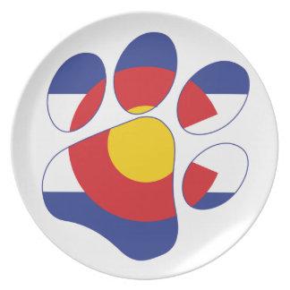Assiette Pattes du Colorado