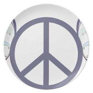 Assiette peace4