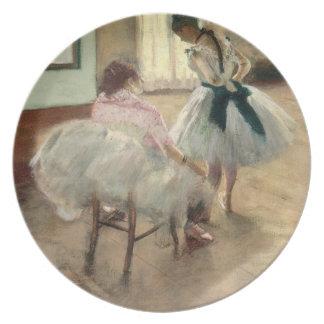 Assiette Pierre un Renoir | la leçon de danse