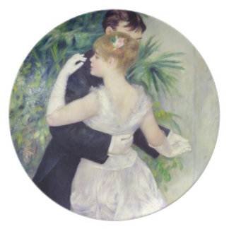 Assiette Pierre une danse de Renoir | dans la ville