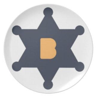 Assiette Plat de Bounty0x