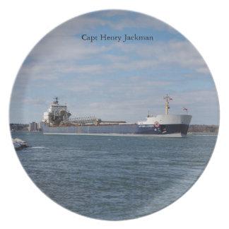 Assiette Plat de capitaine Henry Jackman