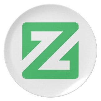 Assiette Plat de ZCoin