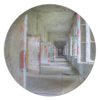 Assiette Portes et couloirs 02,1, endroits perdus, Beelitz