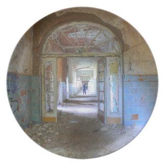 Assiette Portes et couloirs 03,0, endroits perdus, Beelitz