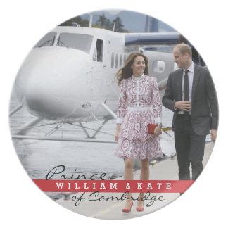 Assiette Prince William et Catherine