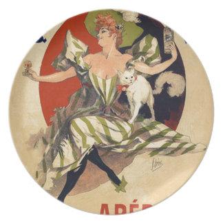 Assiette Publicité française vintage