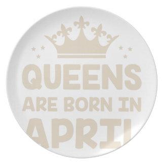 Assiette Reine d'avril