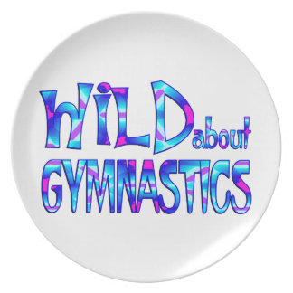Assiette Sauvage au sujet de la gymnastique