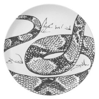 Assiette Serpent de Copperhead