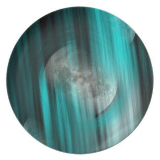 Assiette Sphère de lune