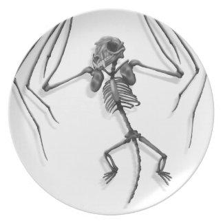 Assiette Squelette de batte
