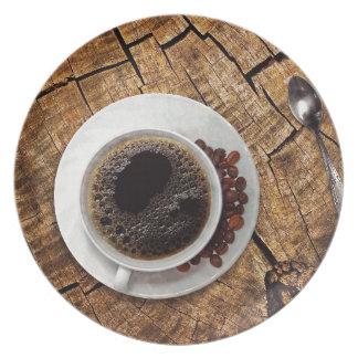 Assiette Tasse de coffeemania de café