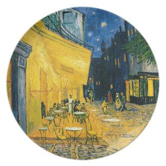 Assiette Terrasse de café de Vincent van Gogh |, Place du
