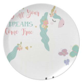 Assiette unicorn2sue