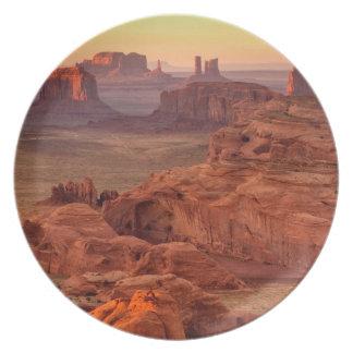Assiette Vallée de monument pittoresque, Arizona