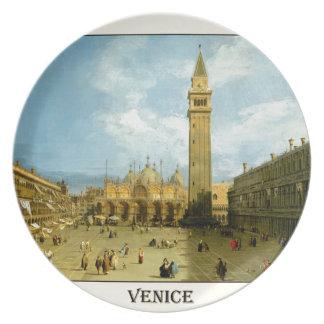 Assiette Venise 1720