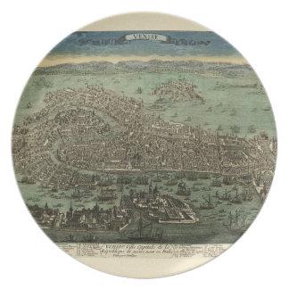 Assiette Venise Italie 1798