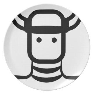 Assiette Viking