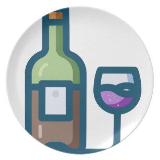 Assiette Vin