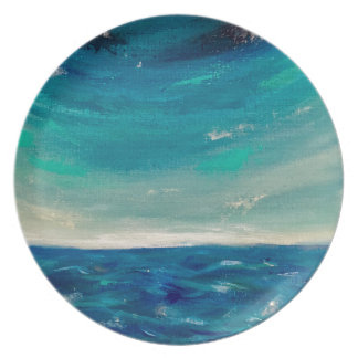 Assiette Vue d'océan