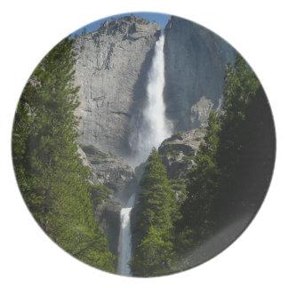 Assiette Yosemite Falls II de parc national de Yosemite