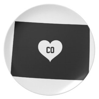 Assiettes En Mélamine Amour du Colorado