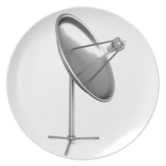 Assiettes En Mélamine Antenne parabolique