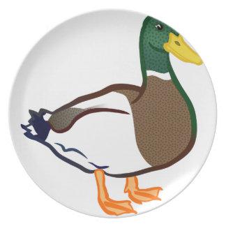 Assiettes En Mélamine Attente de canard