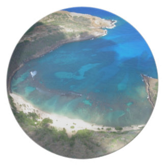 Assiettes En Mélamine Baie Hawaï de Hanauma