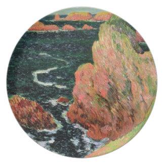 Assiettes En Mélamine Belle Ile de Claude Monet |