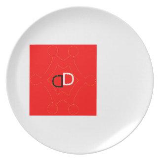 Assiettes En Mélamine by Démon Déchu