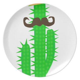 Assiettes En Mélamine cactus