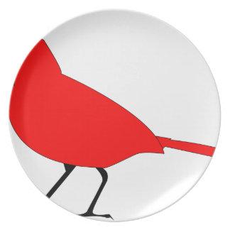Assiettes En Mélamine cardinal