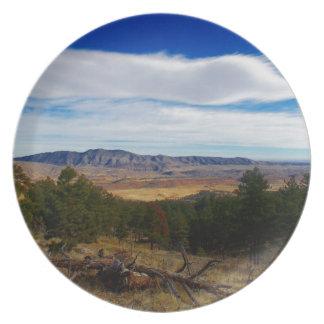 Assiettes En Mélamine Chat sauvage Ridge le Colorado