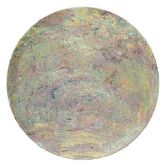 Assiettes En Mélamine Chemin ombragé par | de Claude Monet