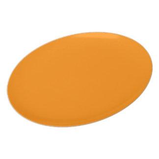 Assiettes En Mélamine Citrouille Halloween creux déplaisant orange