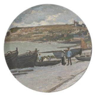 Assiettes En Mélamine Claude Monet | Sainte-Adresse, 1867