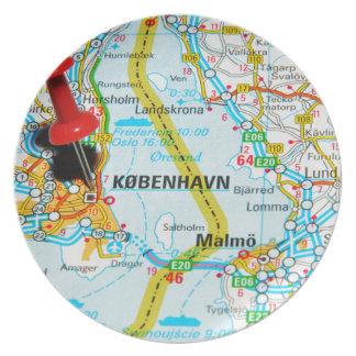 Assiettes En Mélamine Copenhague, København au Danemark