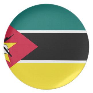 Assiettes En Mélamine Coût bas ! Drapeau de la Mozambique