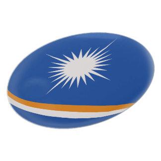 Assiettes En Mélamine Drapeau des Marshall Islands