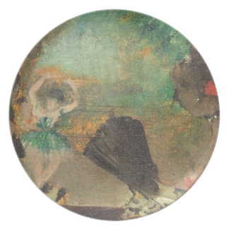 Assiettes En Mélamine Edgar Degas   le Loge, c.1883