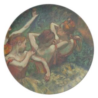 Assiettes En Mélamine Edgar Degas | quatre saisons dans l'une tête,