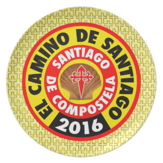 Assiettes En Mélamine EL Camino De Santiago 2016